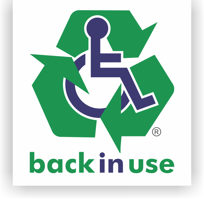 Back in use logo