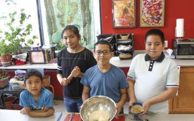 Families Get Cooking with Kids Cook and Adelante's Wellness Referral Center