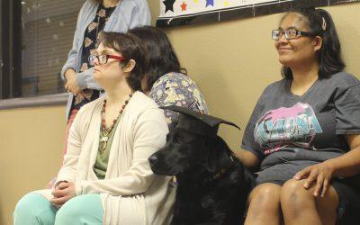 Adelante Participant-Trained Service Dog Graduates to Final Training