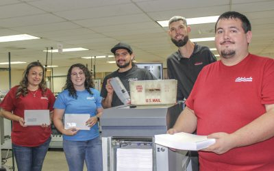 Doña Ana County Treasurer Adelante Bulk Mailing and Printing to Print Tax Bills