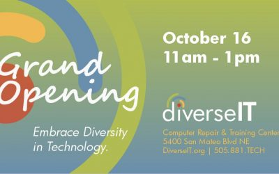 Adelante's DiverseIT Computer Repair and Training Center Opening October 16!