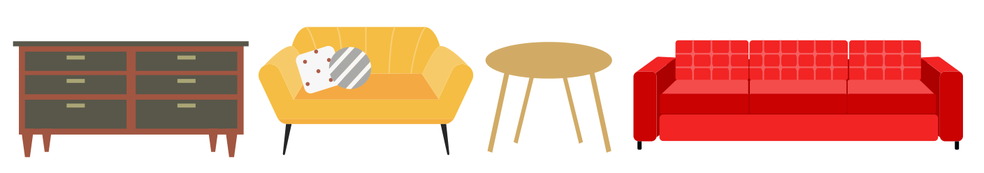 furniture items needed at GiveABQ including sofas dressers and tables.