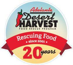 Desert Harvest Food Rescue 20th Anniversary